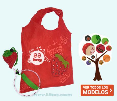 Bolsa ecológica publicitarias Fruit and cute bag